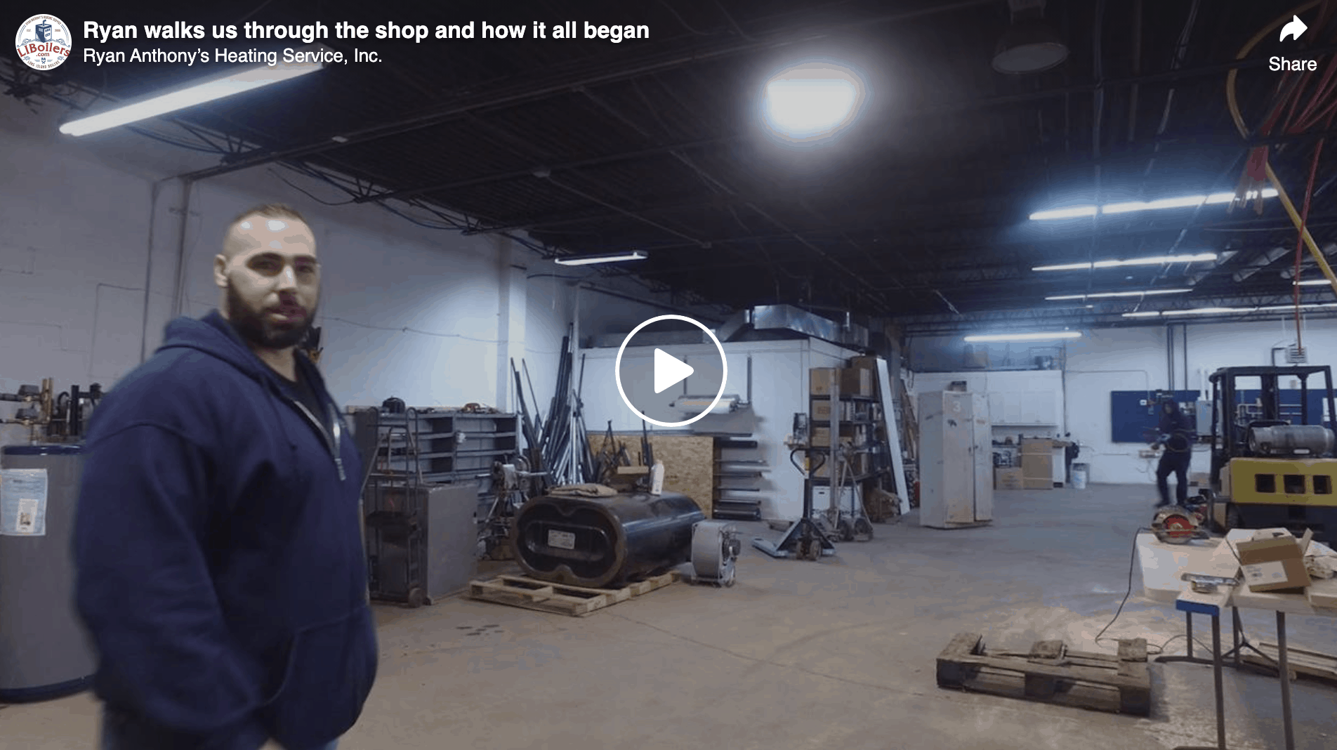 Initial Walk Through Of our Shop 2018